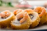 Sushi con Camaron